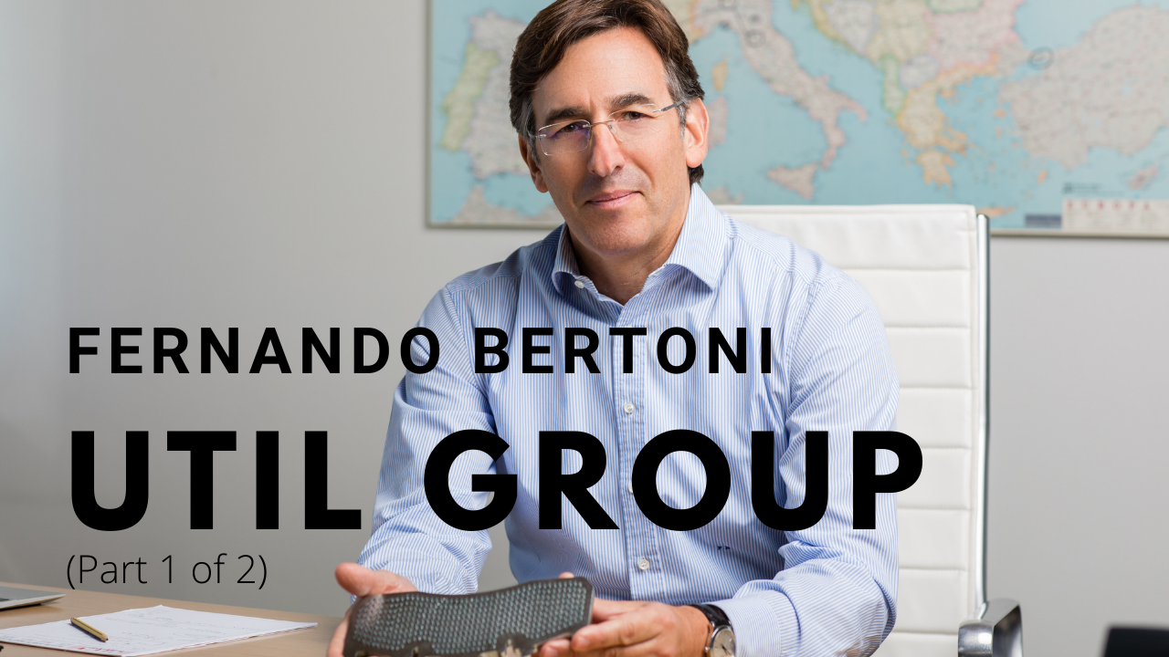 Coffee Brake with Fernando Bertoni, Util Group (Part One)